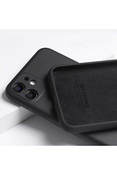 Fibaks Apple Iphone 11 Kılıf 3d Kamera Korumalı Lansman Içi Kadife Yumuşak Silikon
