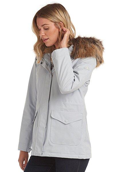 Barbour Kadın Gri Su Geçirmez Ceket
