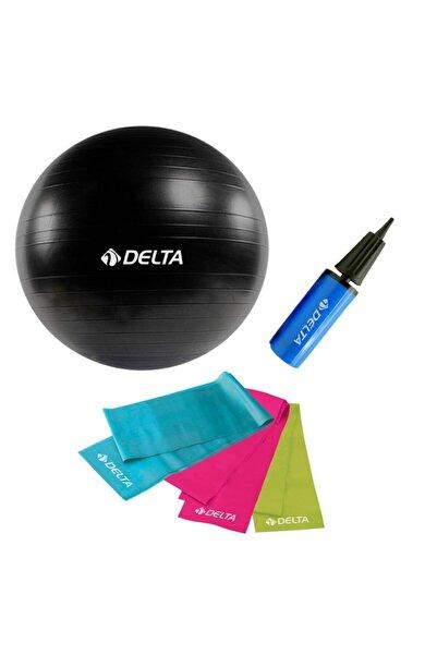 Delta 3'lü Pilates Seti Özel Pilates Seti Yoga Seti Evde Pilates Seti V2
