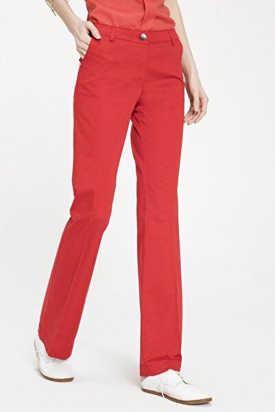 Just Like You Kırmızı Ispanyol Paça Pantolon