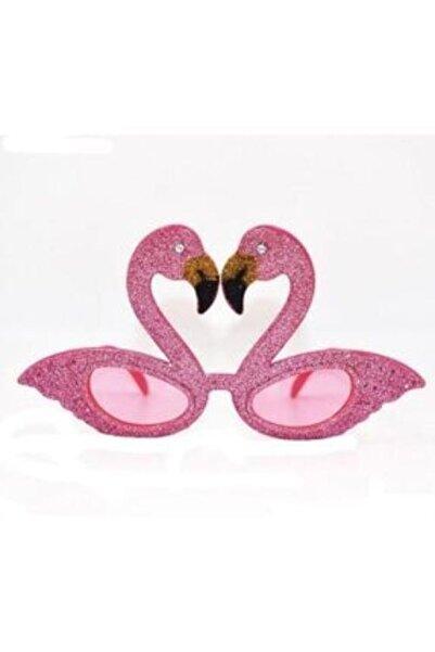 PARTİPORT Simli Flamingo Gözlük