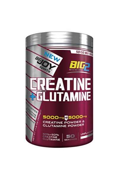 Big Joy Bigjoy Big2 Creatine Powder + Glutamin Powder 505 Gram 50 Servis Aromasız