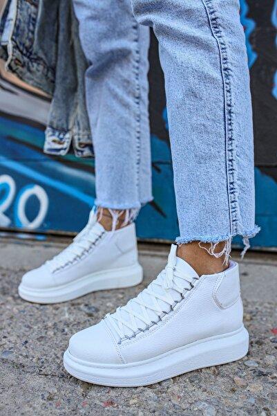 Chekich Ch258 Bt Kadın Beyaz Sneaker