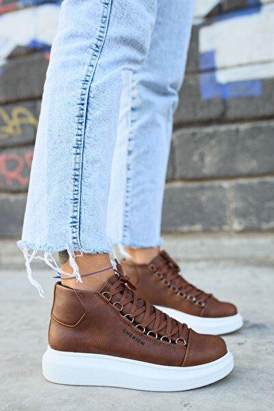 Chekich Ch258 Bt Kadın Sneaker Kahverengi