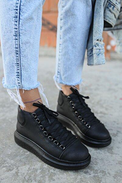 Chekich Kadın Siyah  Sneaker Ch258 St