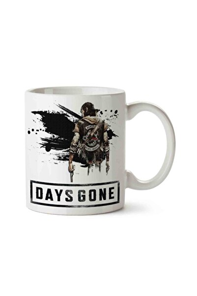MET DESİGN Days Gone 4 Porselen Kupa Bardak
