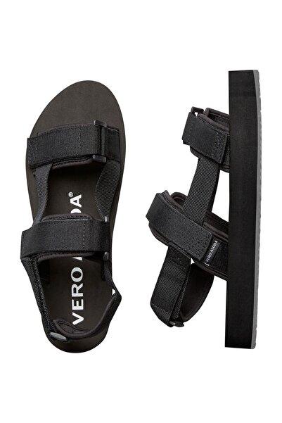 Vero Moda Kadın Siyah Kalın Bantlı Sandalet 10228647 VMTELNA
