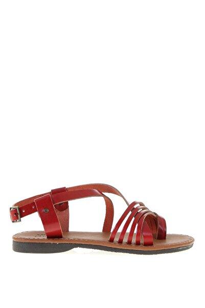 LİMON COMPANY Kırmızı Kadın Sandalet 504500983
