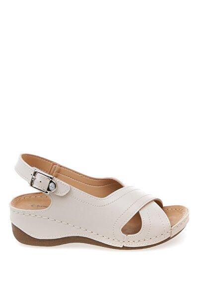 Cotton Bar Ekru Kadın Sandalet Boyner