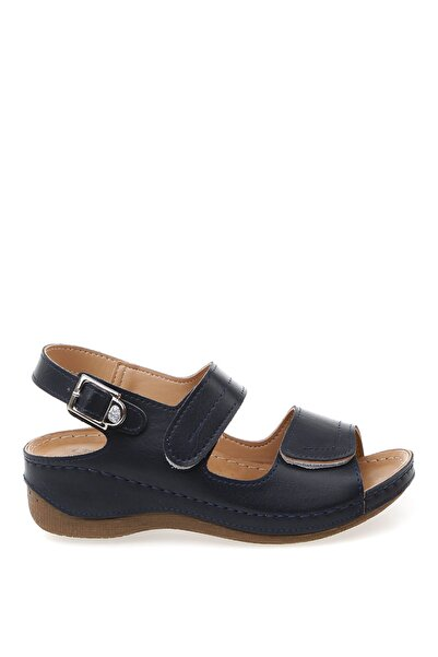 Cotton Bar Lacivert Kadın Sandalet Boyner