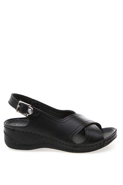 Cotton Bar Siyah Kadın Sandalet Boyner