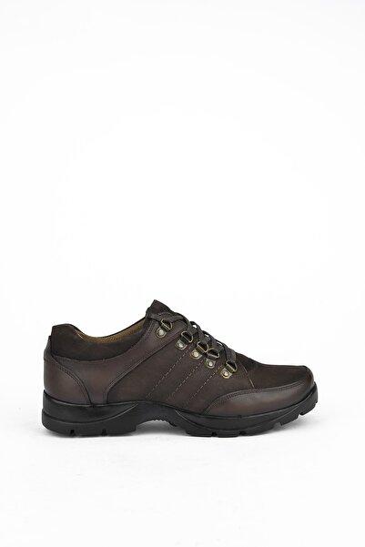 Ziya Erkek Kahverengi Deri Ayakkabı 103415 353006