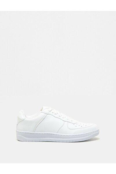 Koton Kadın Beyaz Bağcıklı  Sneakers