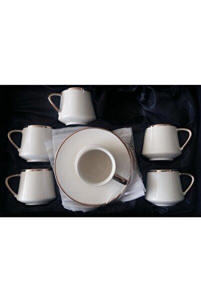 Kahramanlar Kahve Fincan Takımı Porselen Takım 6 Kişilik