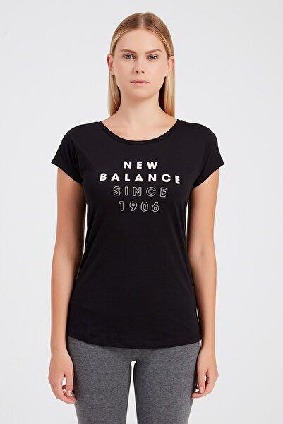 New Balance Wps004-bk Kadın T-shirt