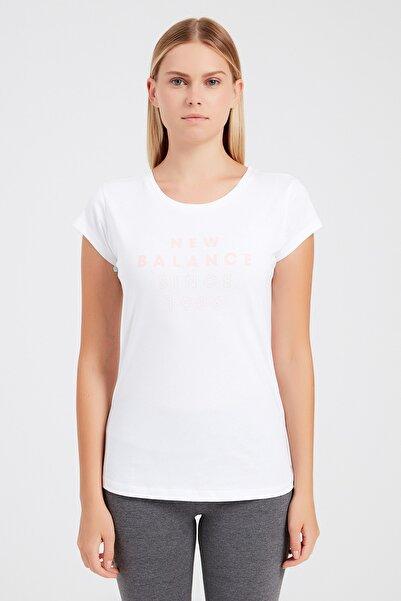 New Balance Wps004-wt Kadın T-shirt