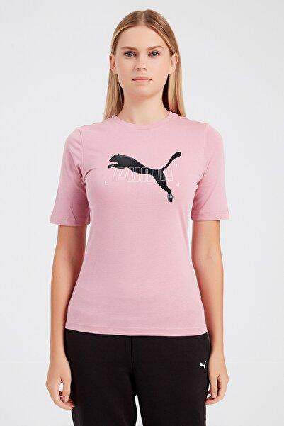Puma Kadın Spor T-Shirt - Nu-tility - 58354616