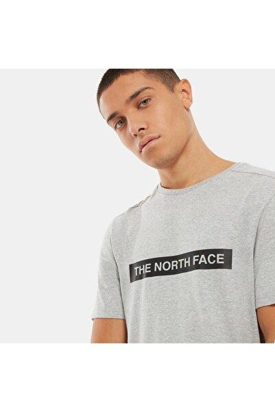 THE NORTH FACE Erkek Gri T-Shirt