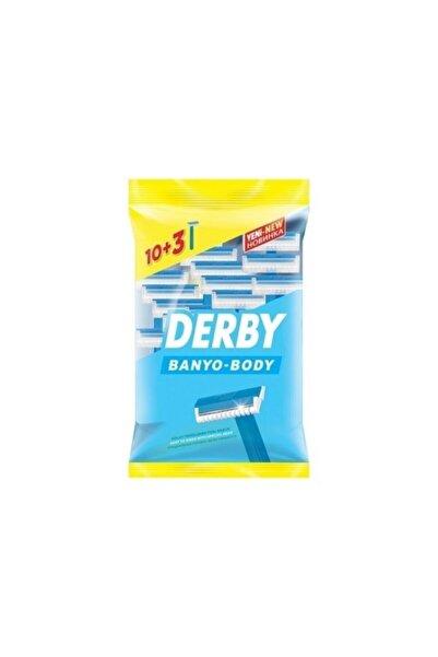 Derby Banyo Body Traş Bıçağı 10+3