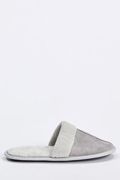 DeFacto Kadın Grey Ev Terliği R9226AZ20AU