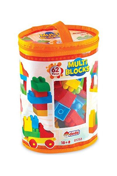 DEDE Multi Blocks 62 Parça Blok Torbaları