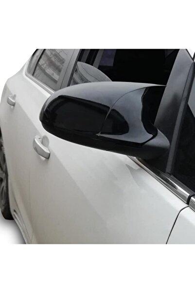 Meliset Opel Corsa D Yarasa Ayna Kapağı Piano Siyah Abs 2006-2014 Arasına Uyumludur