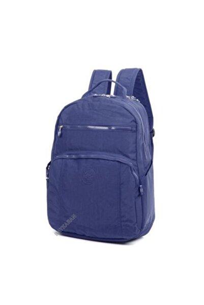 SMART BAGS Unisex Lacivert Büyük Boy Sırt Okul Çantası 1020-0033