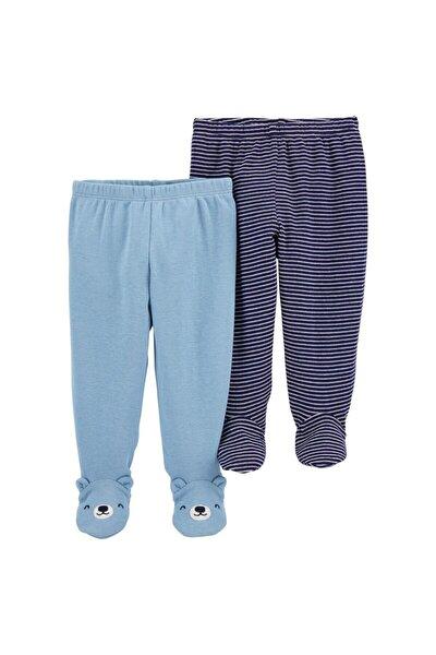 Carter's Erkek Bebek Layette 2'Li Patikli Pantolon 1ı733710