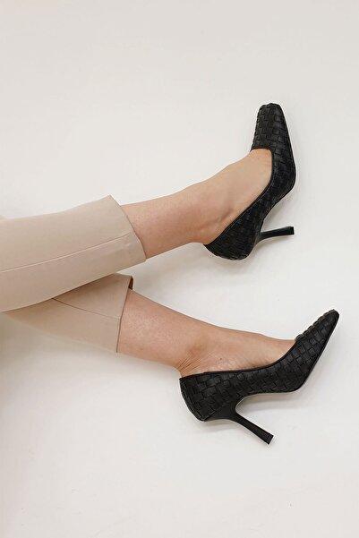 Marjin Kadın Nilda Stiletto Topuklu Ayakkabı