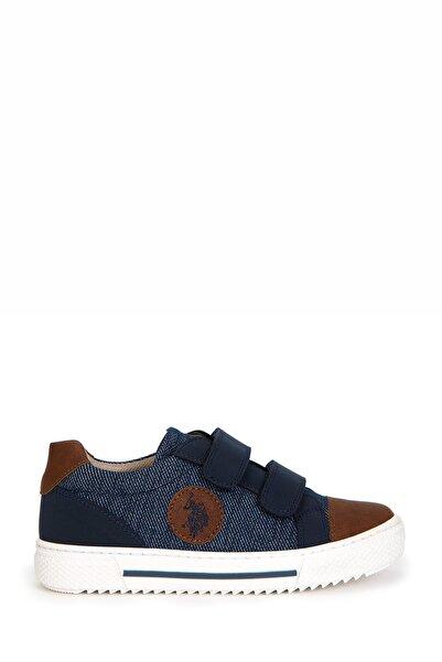 U.S. Polo Assn. Mavi Erkek Çocuk Casual Ayakkabı