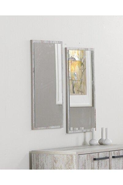ACELYA Konsol Aynası &dekoratif Duvar Aynası & Şifonyer Aynası 2'li Set Vintage Renk