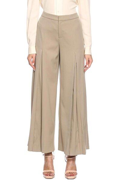 Ralph Lauren Collection Kadın Gri Geniş Kesim Pantolon