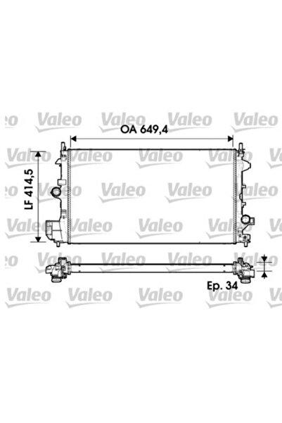 VALEO Su Radyatoru Opel Vectra C 1.9cdti 02- 649x414.5x34