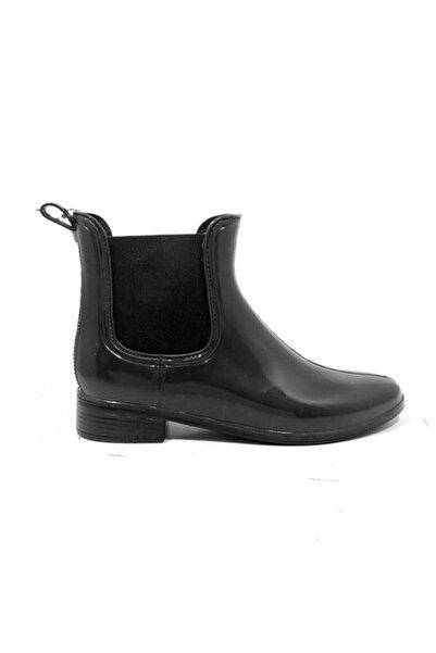 Akınal Bella Kadın Siyah Yağmur Botu 1765.Z.006