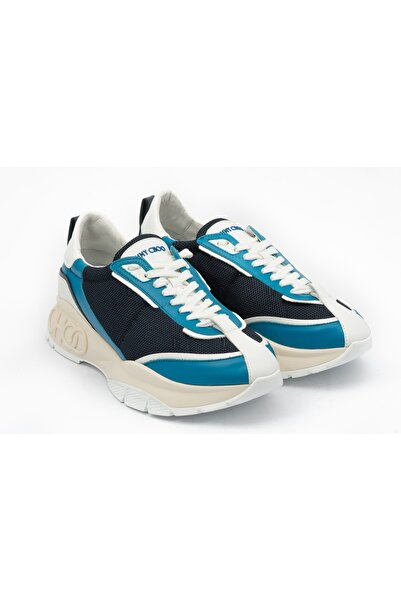 Jimmy Choo Erkek Mavi Sneakers