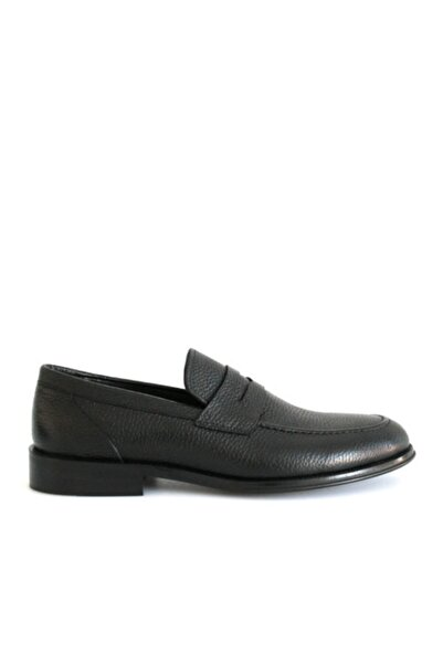 Beta Erkek Siyah Hakiki Deri Ayakkabı