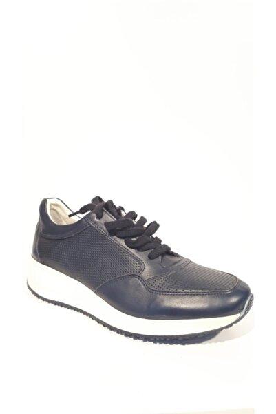 Riccardo Colli Erkek Lacivert Ayakkabı
