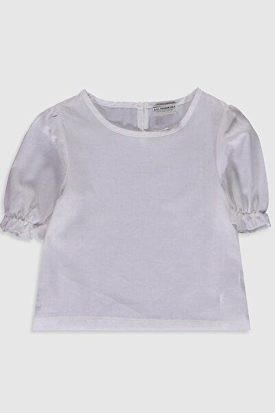 LC Waikiki Kız Çocuk Optik Beyaz E5X Bluz