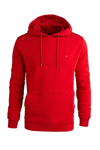 Bad Bear Erkek Hoodie Badge 200212050-RED