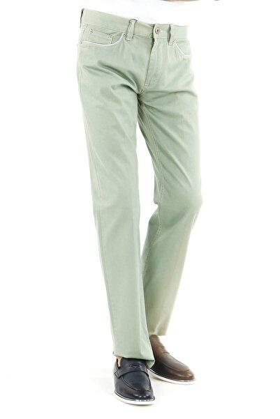 Jakamen Erkek Yeşil Classic Serili Kot Pantolon
