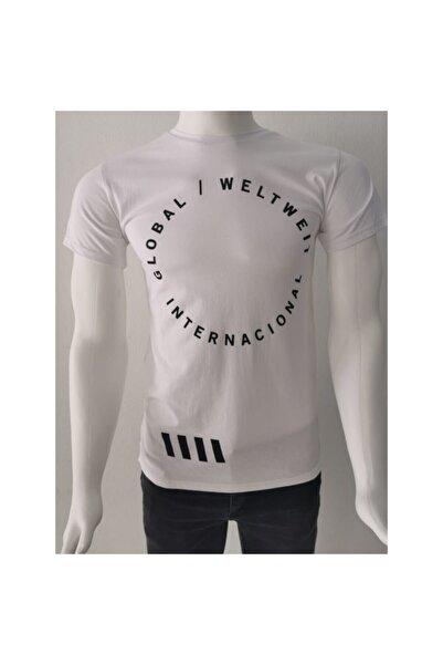 Ceo Erkek  Beyaz  T-shirt