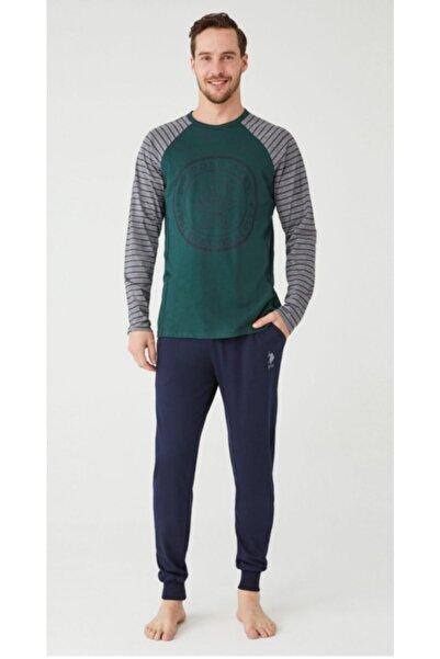 U.S. Polo Assn. U.s Polo Yeşil Erkek Pijama Takımı 18361