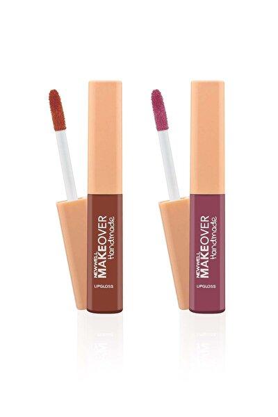 New Well Makeover Handmade 2'li Liquid Lipstick 4 ml