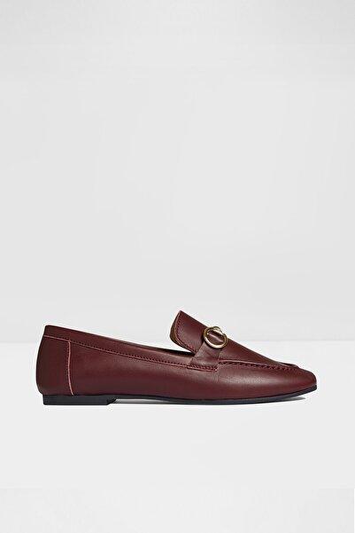 Aldo Kadın Bordo Loafer Ayakkabı
