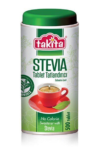 Takita Stevia Tablet Tatlandırıcı 500 Tablet
