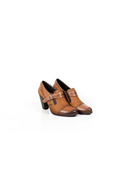 Venüs Hakiki Deri Butin Kadın Günlük Topuklu Ayakkabı