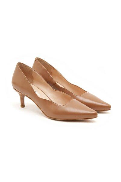 Desa Kadın Kahverengi Deri Klasik Ayakkabı