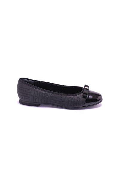 Silver Polo Kadın Siyah Loafer Ayakkabı