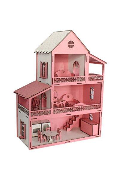 Hakikat Barbie Büyük Boy Oyun Evi Ahşap