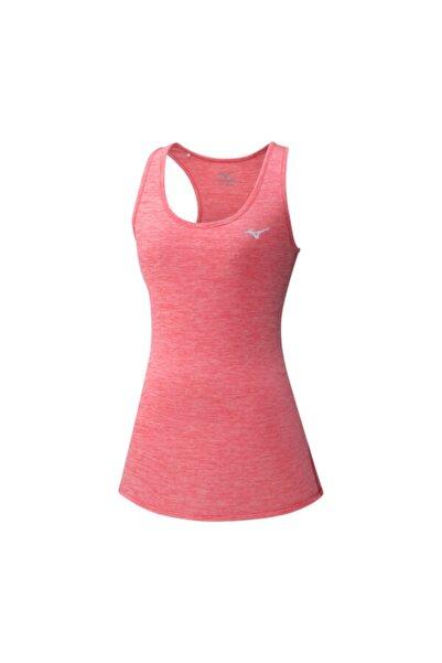 MIZUNO Kadın Pembe Kalın Askılı  Spor T-Shirt